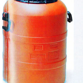 MEDIUM-SIZED BARRELS WITH HANDLES